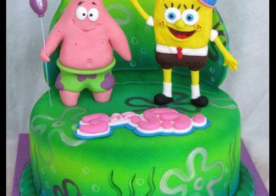 עוגת בוב ספוג 2