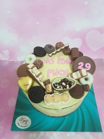 עוגת מוס פיסטוק