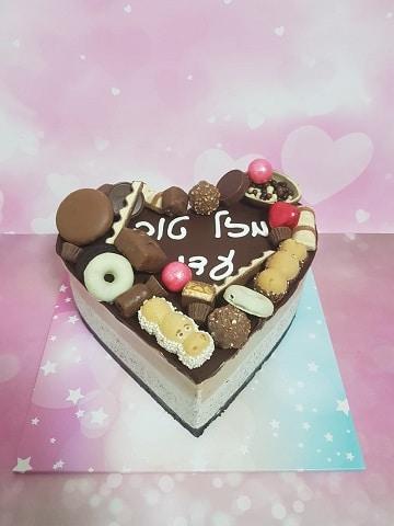 עוגת מוס דוקולב מוס אוראו ומוס נוטלה
