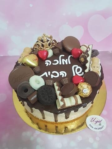 עוגת מוס שוקולד חלב