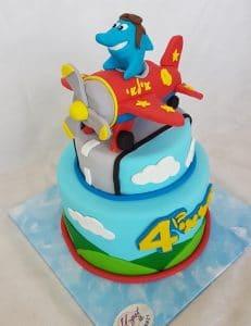 עוגת מטוס קטן