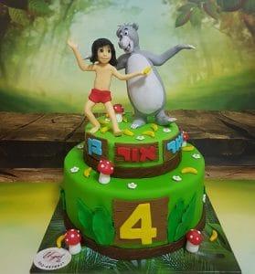 עוגת ספר הג'ונגל