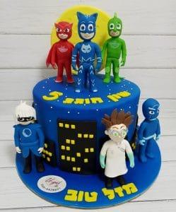 P J MASK CAKE