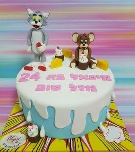 טום וג'רי עוגה