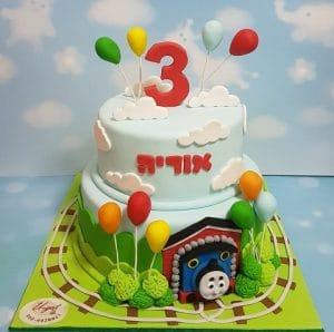 תומאס הקטר עוגה