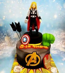 עוגת דמות של תור
